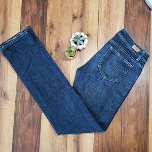 Paige Jeans Size 29 Dark Wash Straight Leg